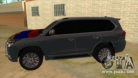 Lexus LX570 2016 Armenian for GTA San Andreas