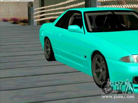 Nissan Skyline R-32 CITY STYLE STOK for GTA San Andreas inner view