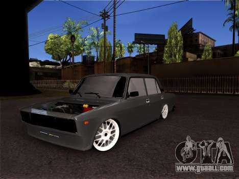 VAZ 2105 BPAN for GTA San Andreas back left view