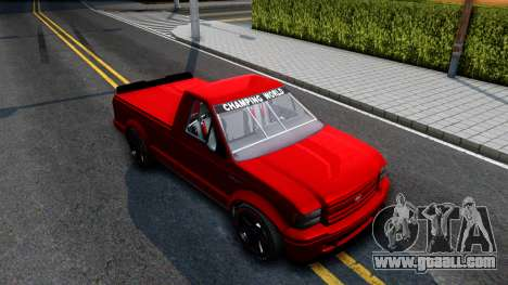 GTA V Vapid Sadler Racing for GTA San Andreas right view