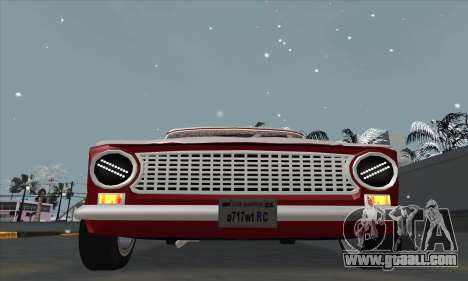 VAZ 2101 snow version for GTA San Andreas right view