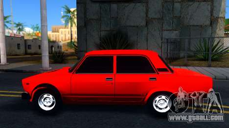 "VAZ 2105 ""Piglet GVR"" V2 for GTA San Andreas"