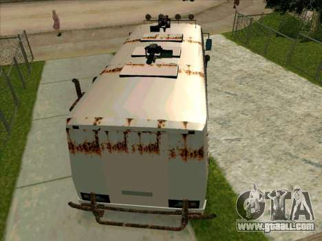 PAZ-32053 For the zombie Apocalypse for GTA San Andreas