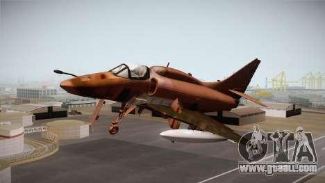 EMB McDonnell Douglas A-4M Skyhawk for GTA San Andreas