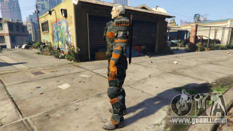 GTA 5 Deathstroke 1.1