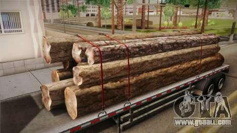 GTA 5 Log Trailer v3 IVF for GTA San Andreas inner view