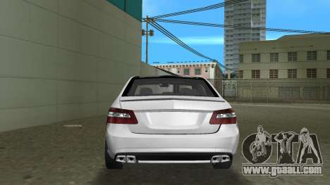 Mercedes-Benz E63 AMG TT Black Revel for GTA Vice City right view