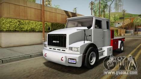 GTA 5 Brute Utility Truck IVF for GTA San Andreas right view