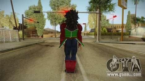 Dragon Ball Xenoverse - Bardock SSJ4 for GTA San Andreas