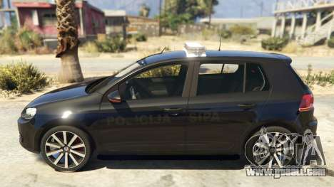 GTA 5 SIPA Policija left side view