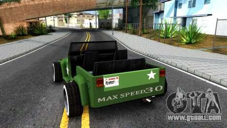 Rat Rod Mesa for GTA San Andreas
