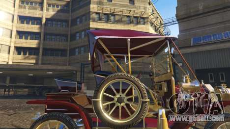 GTA 5 Ford T 12 model 1 right side view