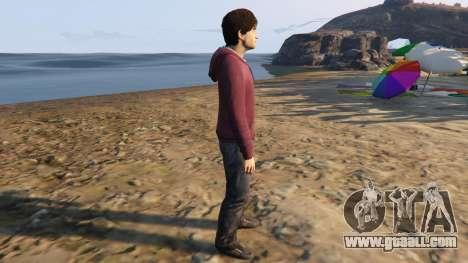 GTA 5 Harry Potter no-glasses second screenshot