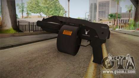 Bikers DLC Sweeper Shotgun for GTA San Andreas second screenshot