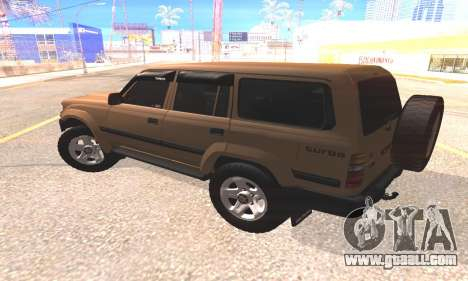 Toyota Land Cruiser 80 for GTA San Andreas left view