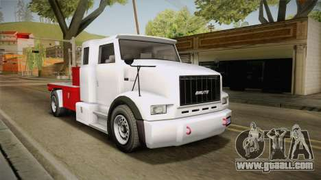 GTA 5 Brute Utility Truck IVF for GTA San Andreas