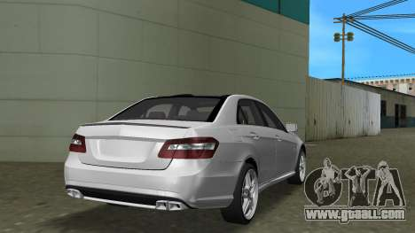 Mercedes-Benz E63 AMG TT Black Revel for GTA Vice City back view