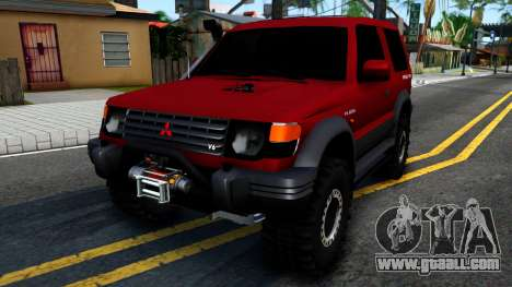 Mitsubishi Pajero Off-Road 3 Door for GTA San Andreas