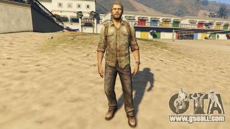 GTA 5 Joel The Last Of Us