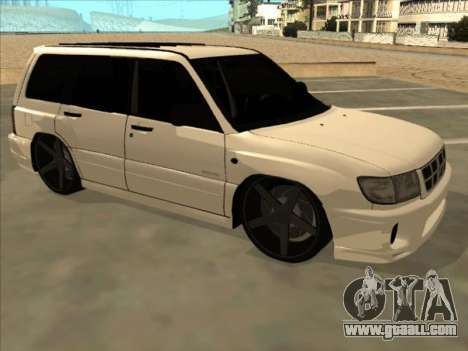 Subaru Forester for GTA San Andreas back left view