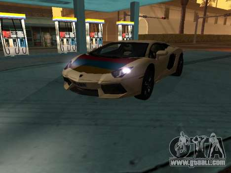 Lamborghini Aventador LP700-4 Armenian for GTA San Andreas
