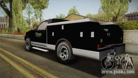 GTA 5 Vapid Utility Van for GTA San Andreas left view