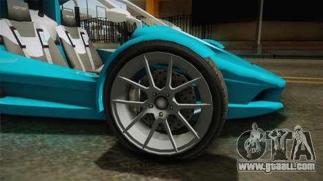 GTA 5 BF Raptor IVF for GTA San Andreas back view