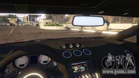 GTA 5 Lamborghini Gallardo Superleggera LibertyWalk right side view