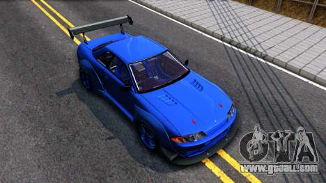 Nissan Skyline GTR R32 Rocket Bunny for GTA San Andreas right view