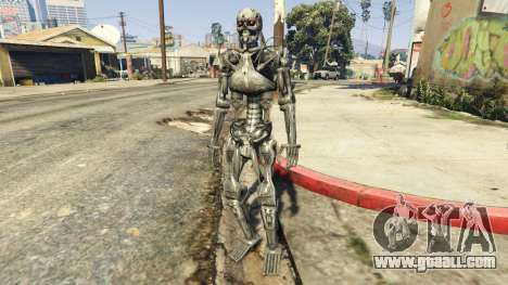 GTA 5 Terminator T-800