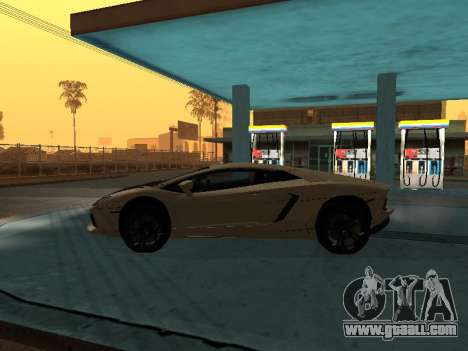 Lamborghini Aventador LP700-4 Armenian for GTA San Andreas left view