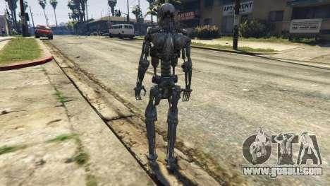 GTA 5 Terminator T-800 third screenshot