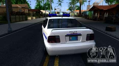 Declasse Merit Hometown Police Department 2004 for GTA San Andreas