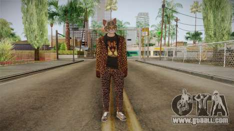 GTA Online Hipster Feline for GTA San Andreas