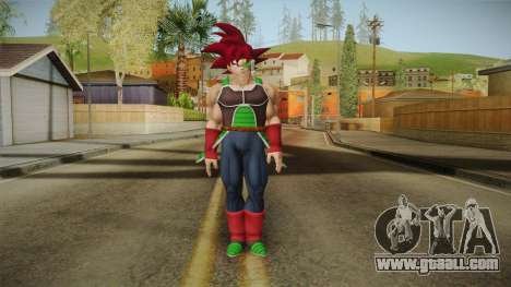 Dragon Ball Xenoverse - Bardock SSG for GTA San Andreas second screenshot