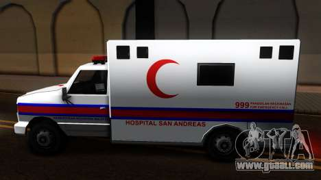 Ambulance Malaysia for GTA San Andreas left view