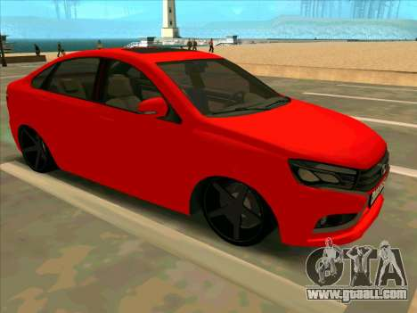 Lada Vesta BPAN for GTA San Andreas