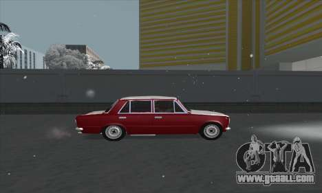 VAZ 2101 snow version for GTA San Andreas left view