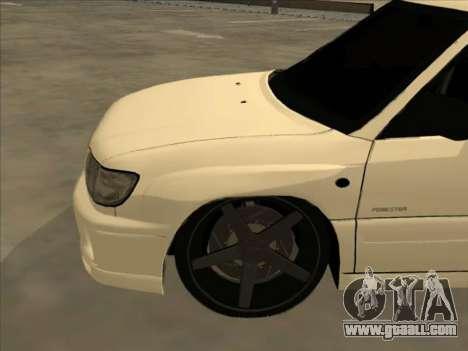 Subaru Forester for GTA San Andreas upper view