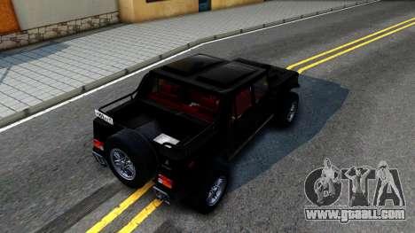 """Lamborghini ML002 From """"Brigada"""" for GTA San Andreas"""