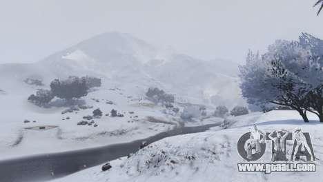 GTA 5 Christmas in Singleplayer (Snow Mod) 1.01