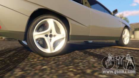 GTA 5 Fiat Coupe rear right side view