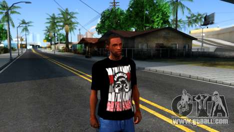 Nike Air Jordan S.O.M. Do You Know T-Shirt Black for GTA San Andreas second screenshot