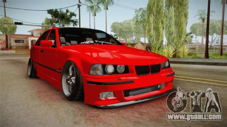 BMW M3 E36 Stance for GTA San Andreas