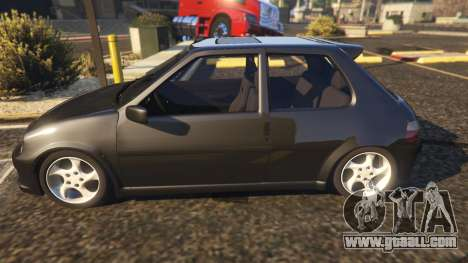 GTA 5 Peugeot 106 left side view