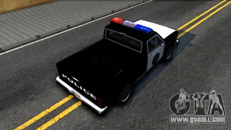 Police Bobcat for GTA San Andreas back view
