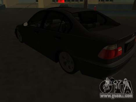 BMW 320i Armenian for GTA San Andreas back view