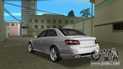 Mercedes-Benz E63 AMG TT Black Revel for GTA Vice City back left view
