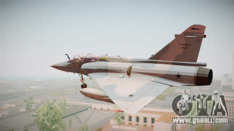 EMB Dassault Mirage 2000-N FAB for GTA San Andreas