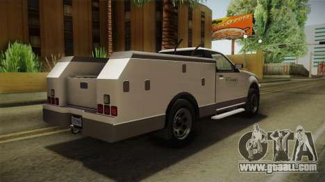 GTA 5 Vapid Utility Van IVF for GTA San Andreas